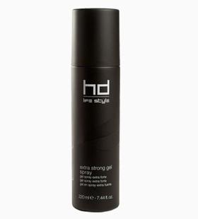 Extra strong gel spray